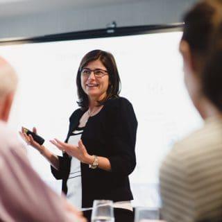 Louise leading PuMP Performance measure workshop