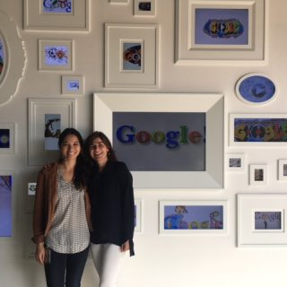 Louise Watson at Google Office to learn about team development