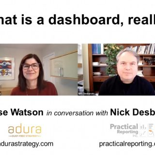 What is a dashboard really?
